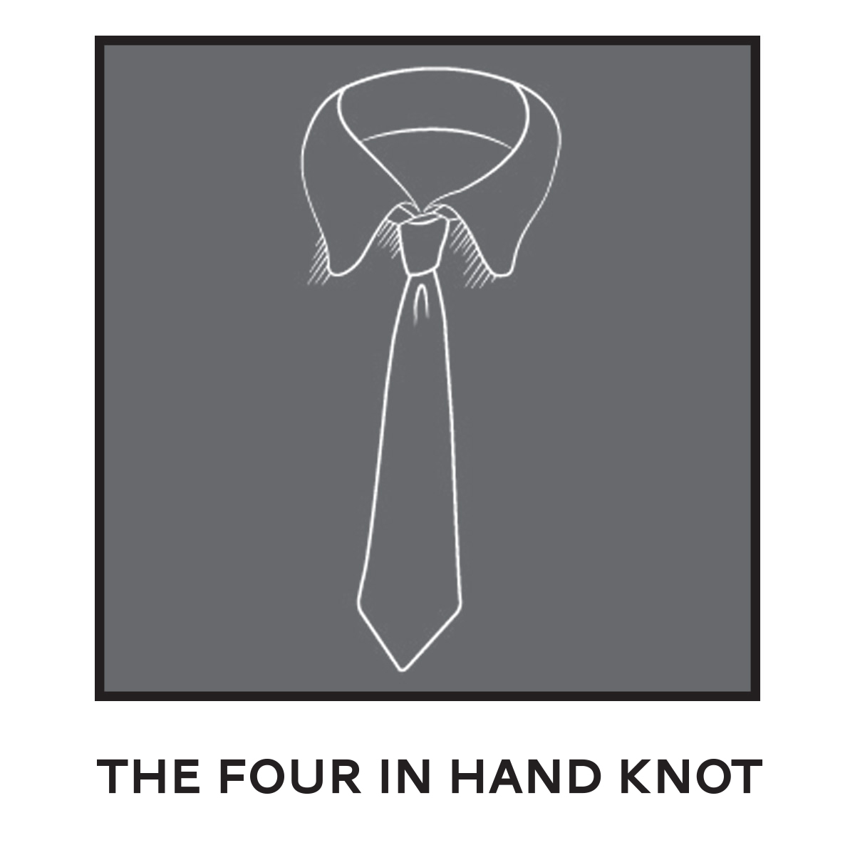 Tie Four In Hand Knot