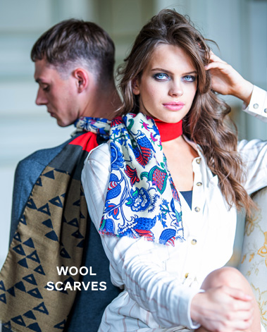 wool scarves fw19
