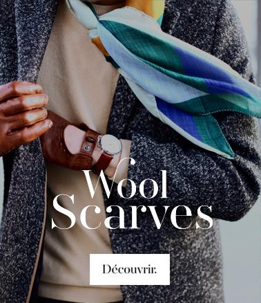 square wool scarves